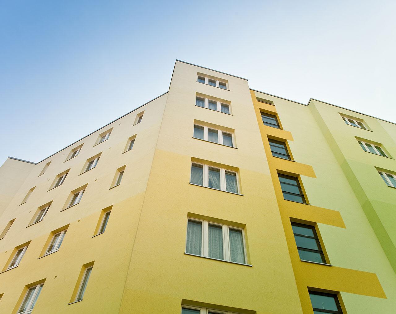 Fassade und Farbe