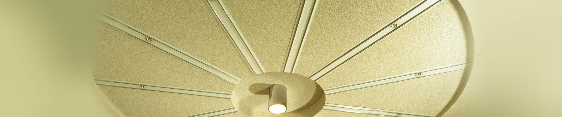 Stuckateur Deckenlampen